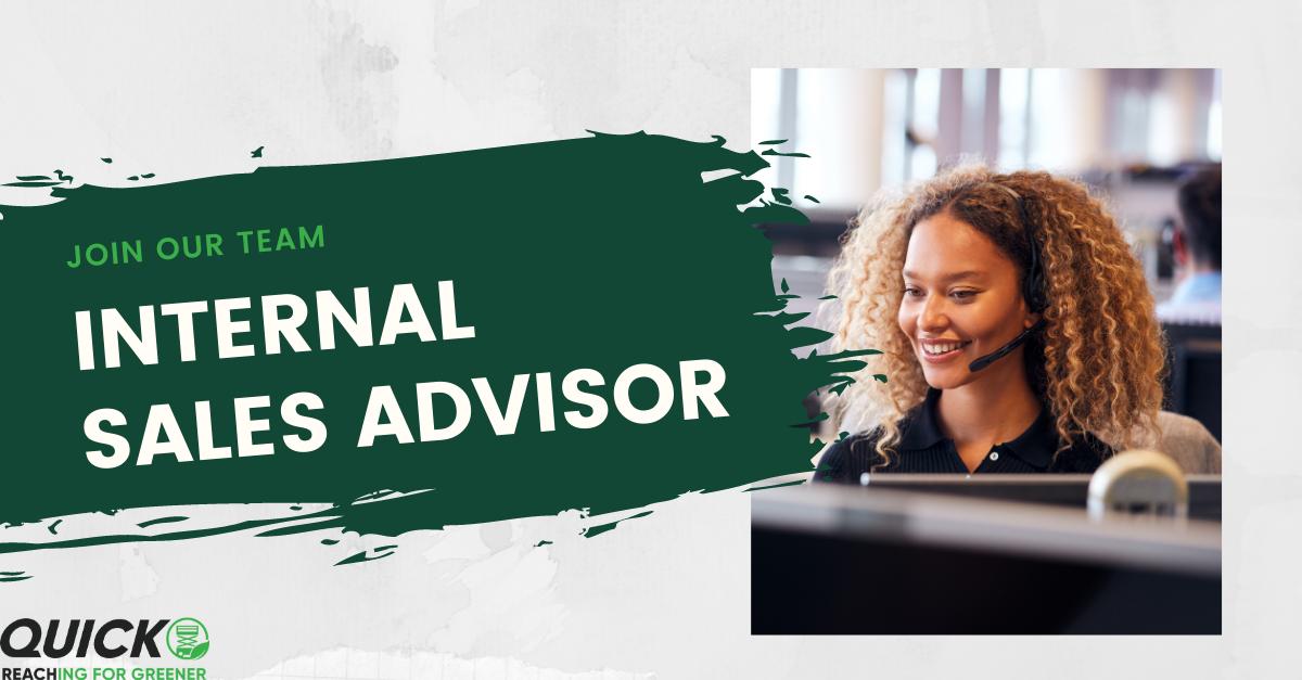 Join Our Team – Internal Sales Advisor