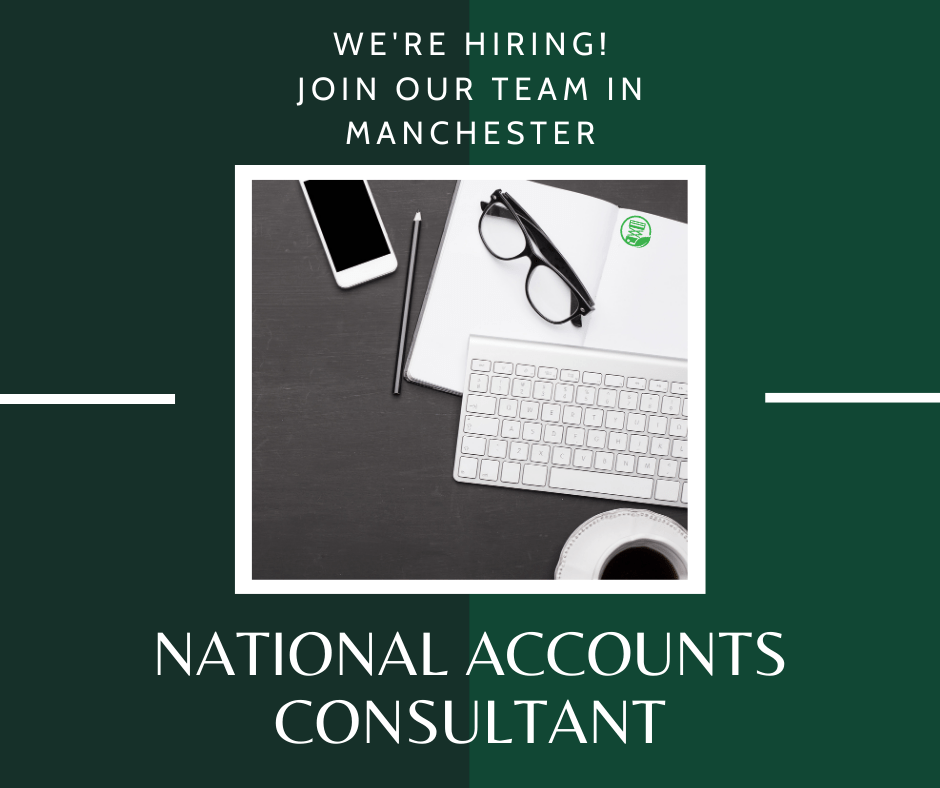 We're Hiring, National Accounts Consultant
