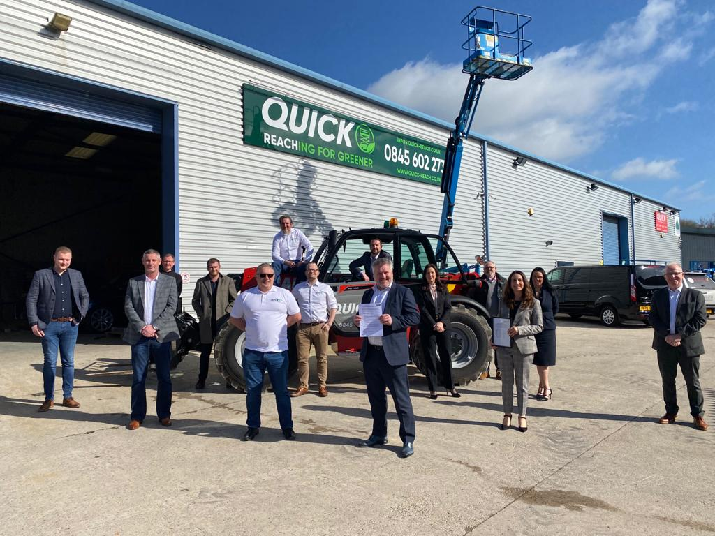 Quick Reach launches Integrated Management System
