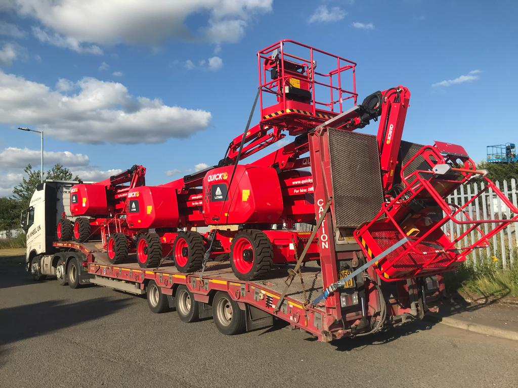 £7.5 million investment in new equipment for Quick Reach